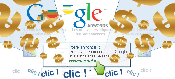 Google Adwords : 10 à 90% de budgets inutilement dépensés
