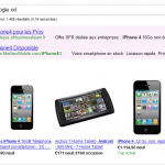 Illustration du comparateur de prix Google Shopping